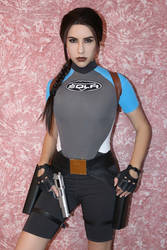 15th anniversary of my Lara Croft cosplay - 3