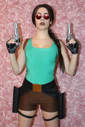 15th anniversary of my Lara Croft cosplay - 5