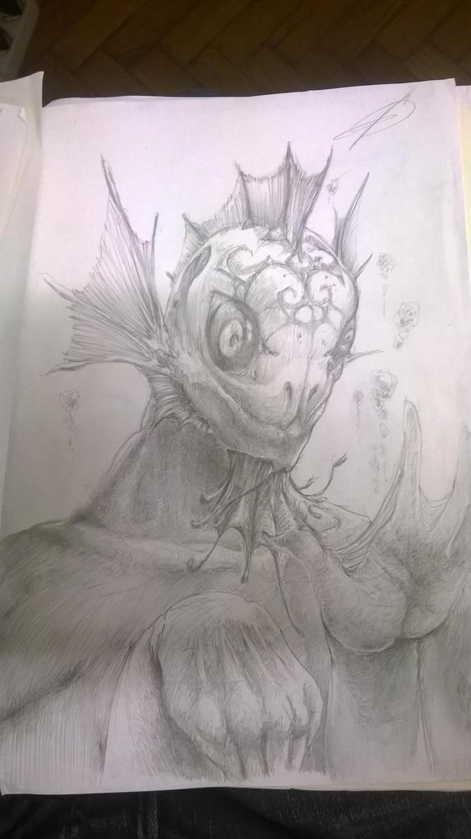 daily_Sketch_Summer14_01 by ZacKaox