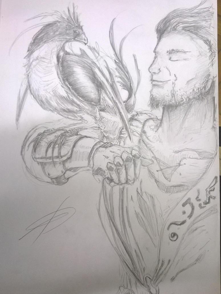 phoenix handler by ZacKaox