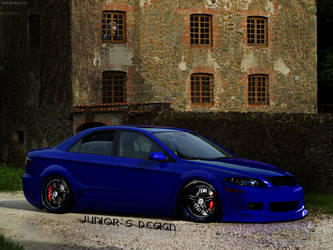 Mazda 6 Facelift by EdsonJRDesign