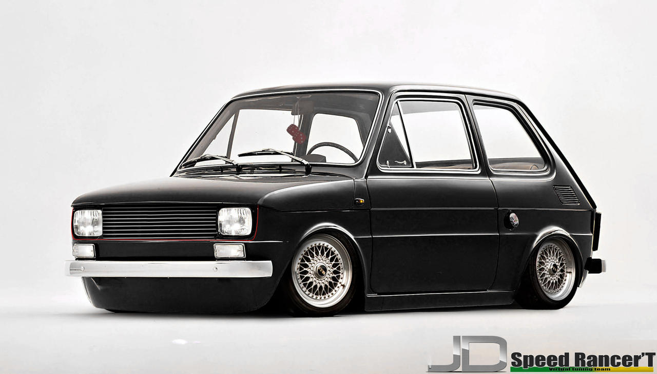 fiat 126 by edsonjrdesign on deviantart. Black Bedroom Furniture Sets. Home Design Ideas