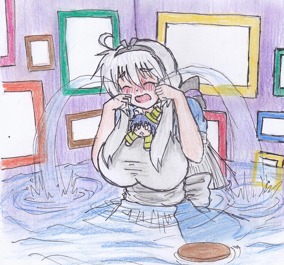 Alice In Wonderland Crying: Haku In Wonderland: The Pool Of Tears By KegiSpringfield