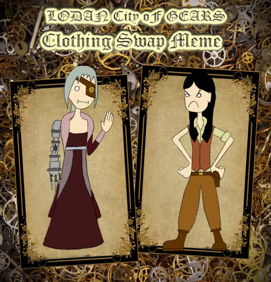 Lodan Clothing Swap Meme by SonicEdge7