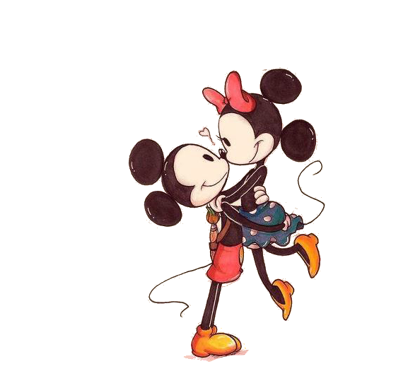 Mickey y Minnie besandose tumblr - Imagui
