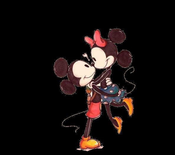 Mickey y Minnie besandose tumblr - Imagui
