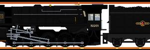 BR #92203: Black Prince.