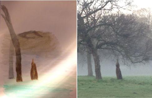 The Pilgrim and the Tree