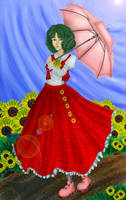Flower of the Sun by apotropaic-puppet