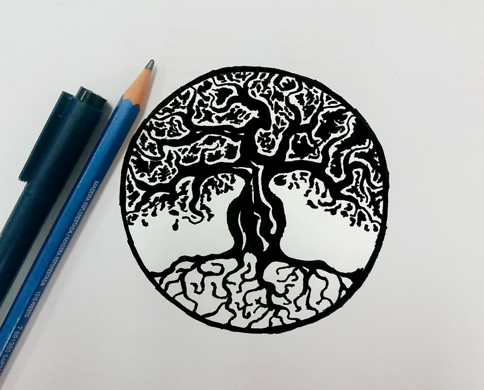 Circle Tree by Blarlock