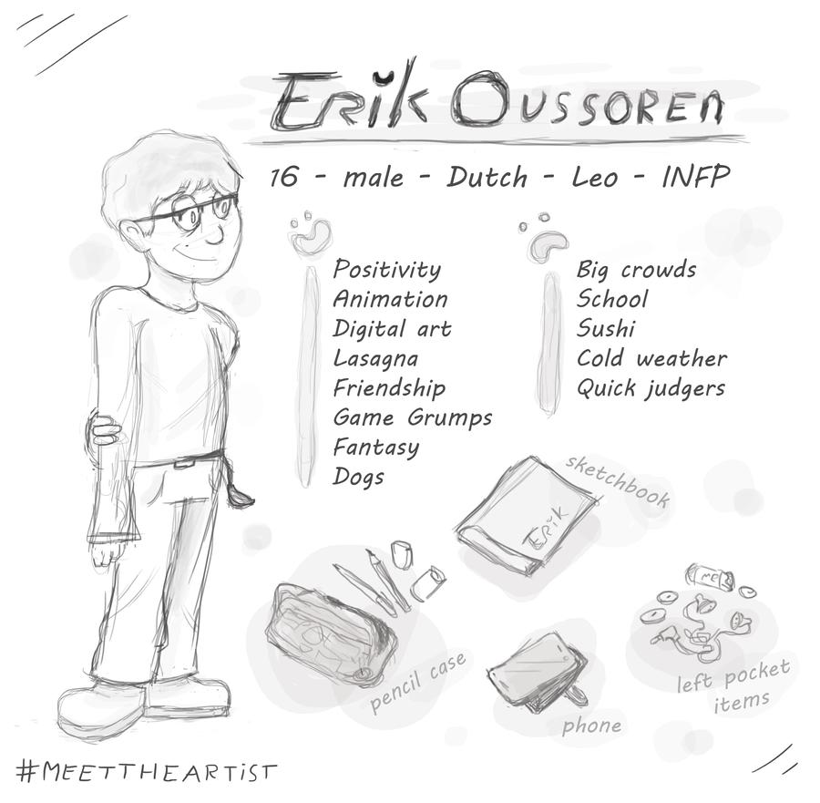 Meet the artist by ErikOu