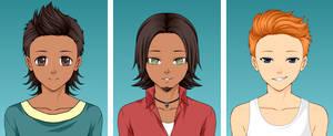 Total Drama : Mike, Alejandro, Scott (Anime)