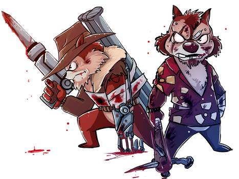 Chip and Dale: Zombie Crushers