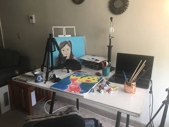 Small art studio by Jesstina22