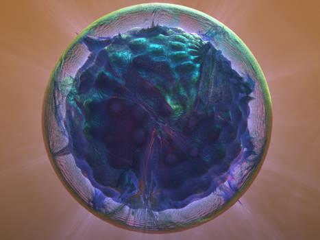 Mandelbulb 3D -- Rainbow Virus v2