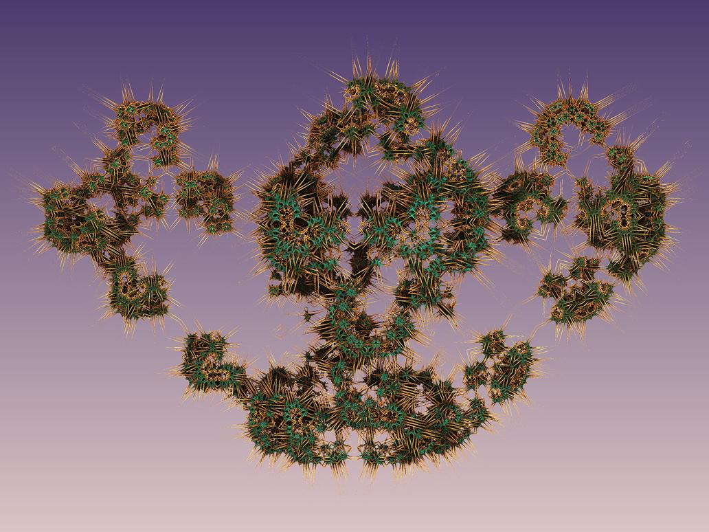 Krompulos Pong 01: Thorny Leaves (M3D) by SEwing0109
