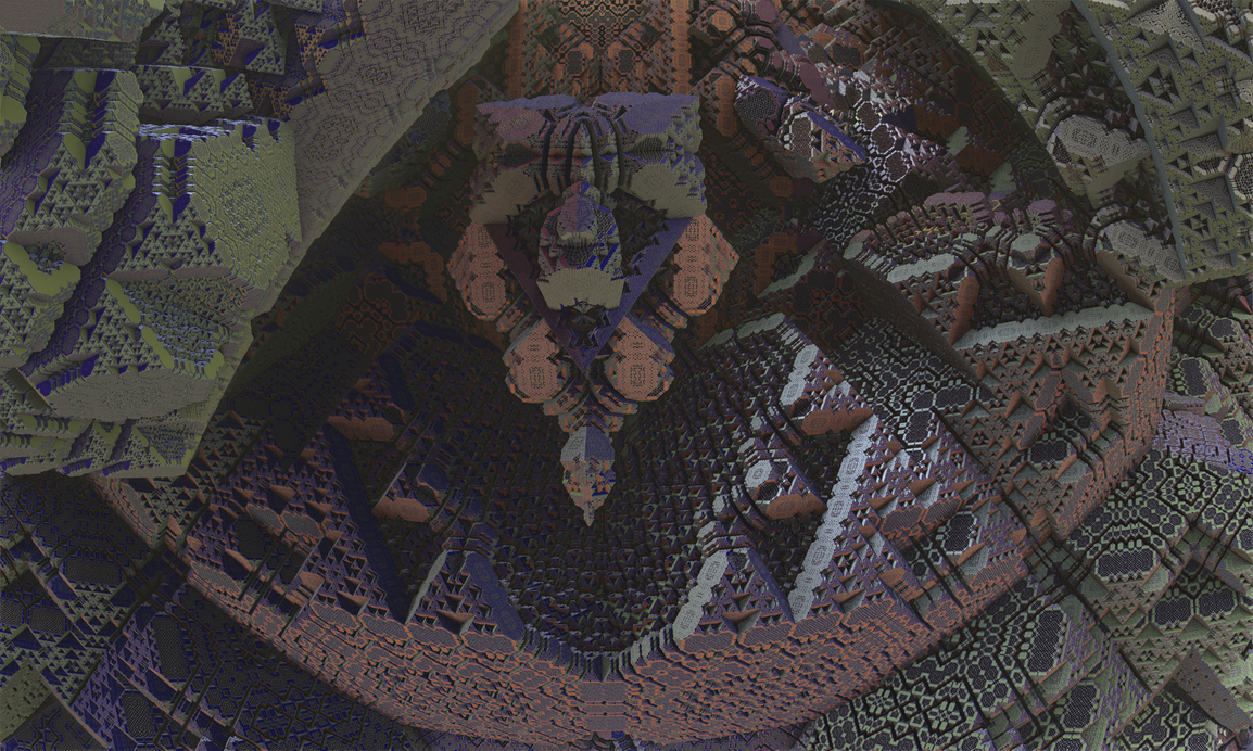 Tantalizing fractals 09: Mayan Cieling by SEwing0109