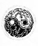 Dragon Tribal Yin and Yang