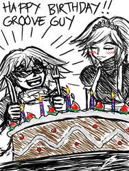 Lucky and Alice birthday stuff