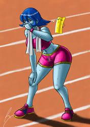 Lei Lei Athletic Lady by borockman