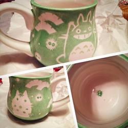 Totoro Ceramic Cup