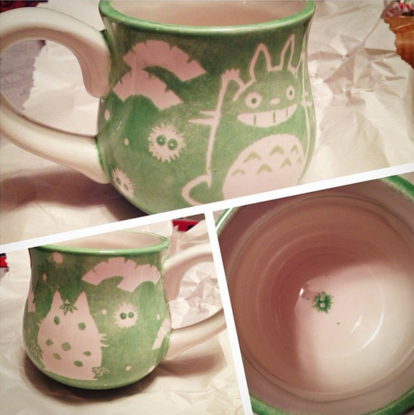 Totoro Ceramic Cup by MilkyBoutique