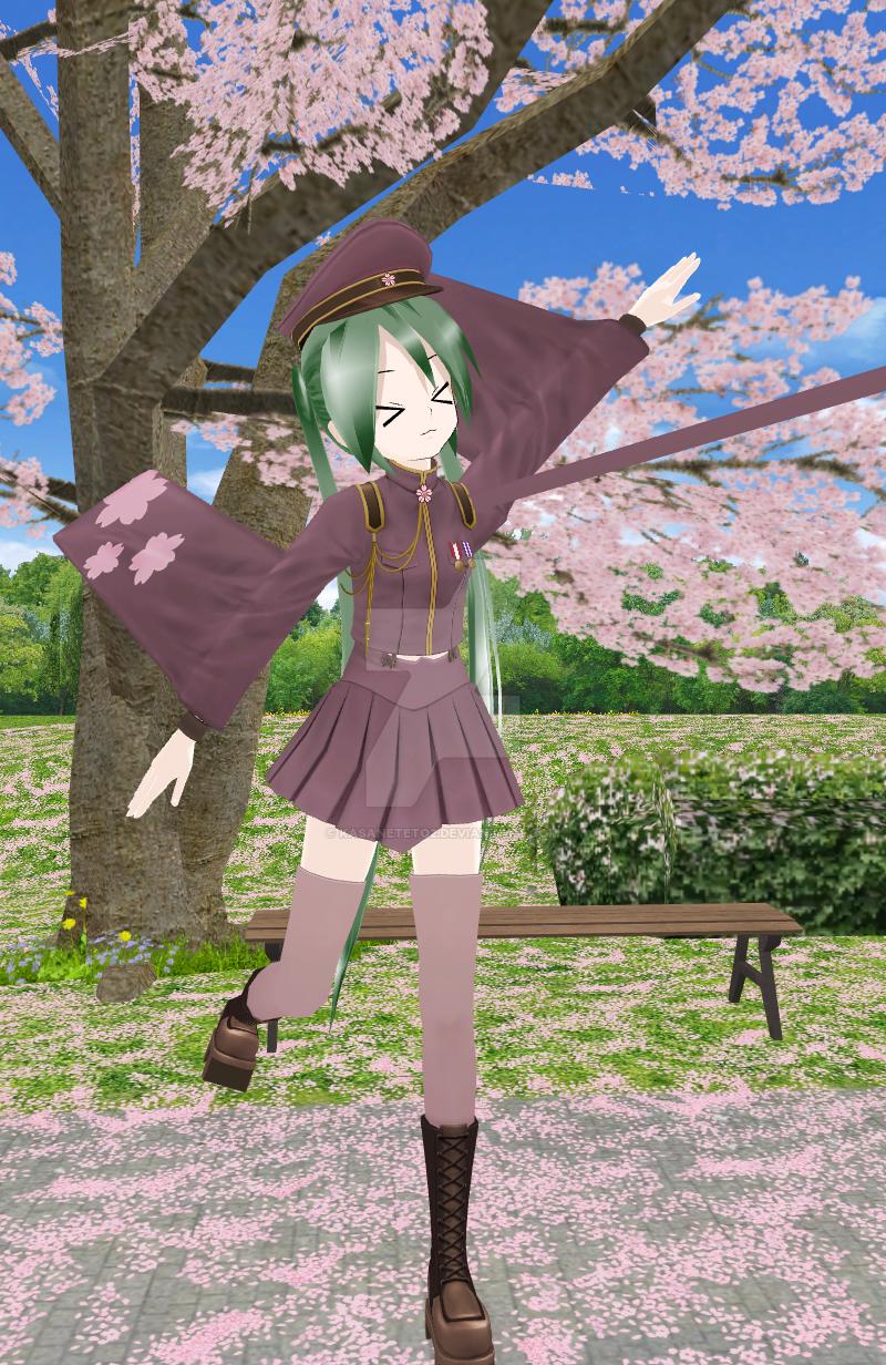 Sakura Miku by KasaneTeto2