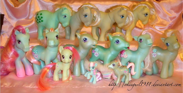 My Minty Army by okiegurl1981