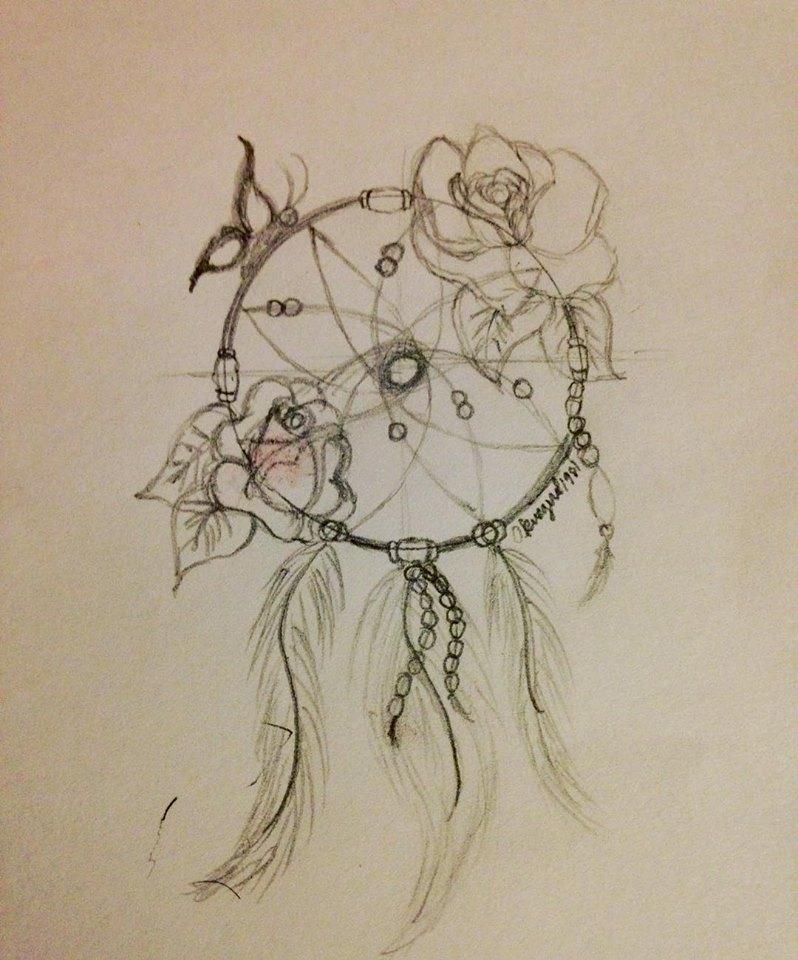Dreamcatcher Sketch by okiegurl1981