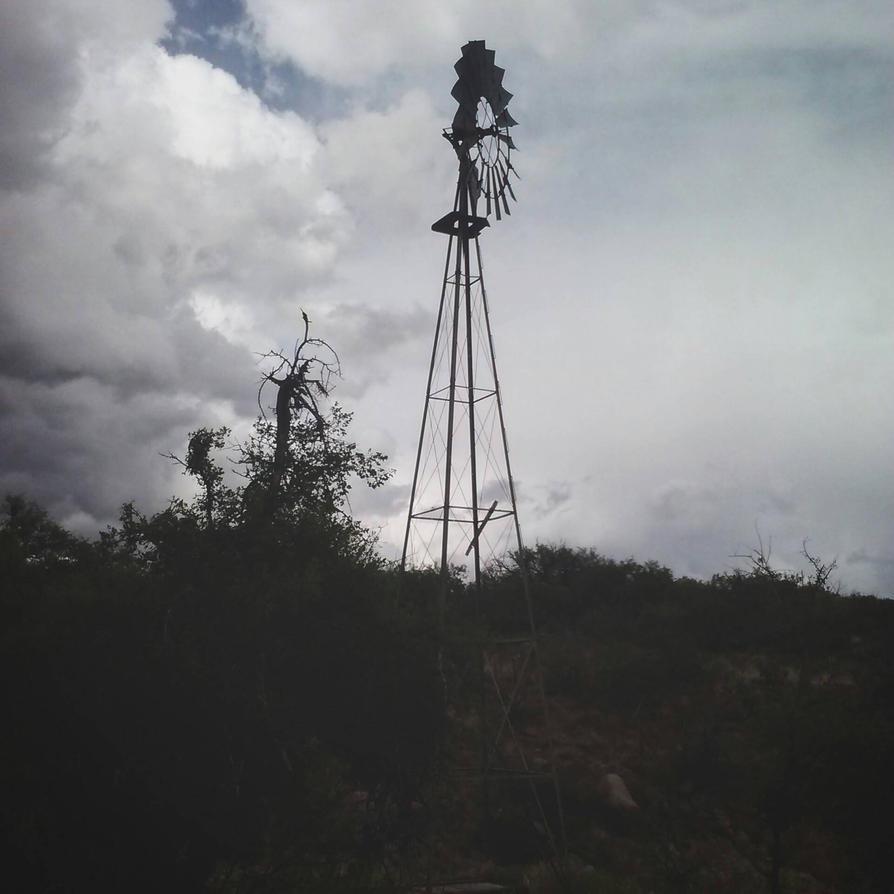 The Ol' Windmill by WanderinAZ