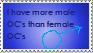 Male OC stamp by LexiDog01