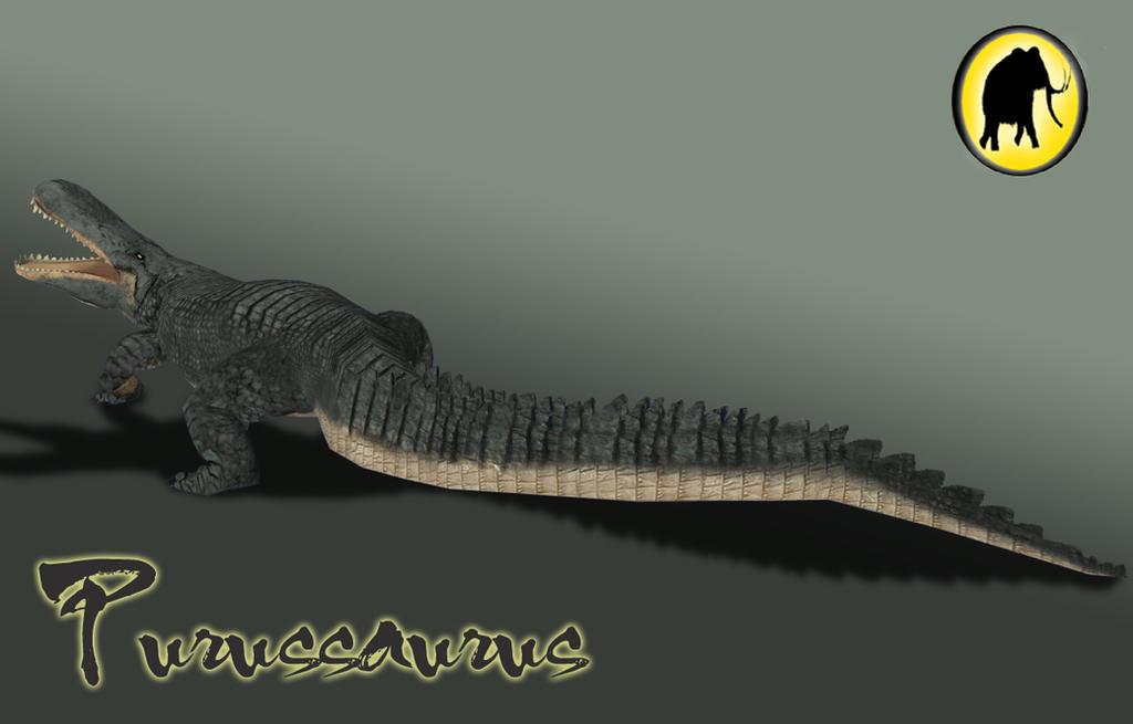 Purussaurus Render by ...