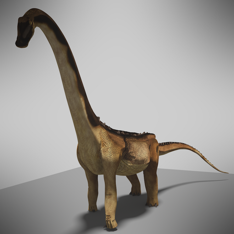 Alamosaurus Preview by wildman1411 on DeviantArt