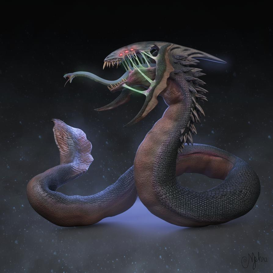 Serpent/Xenomorph hybrid 2 by wildman1411