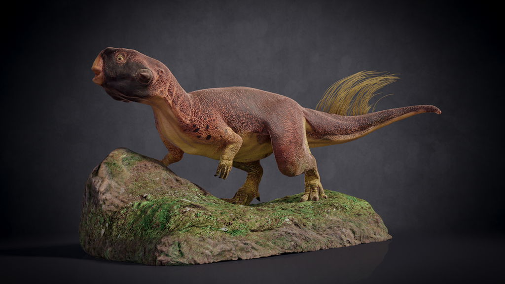 Psittacosaurus figure by wildman1411