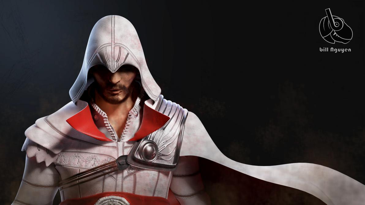 Ezio Auditore wallpaper by wildman1411