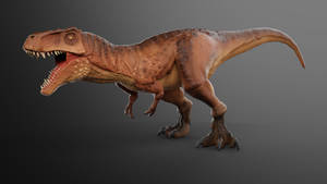 Tyrannosaurus rex (again) by wildman1411