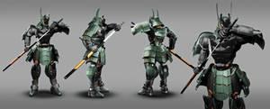 Samurai Robot RTS02 / Details