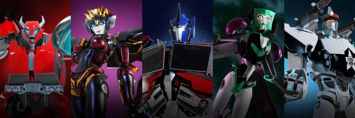 Transformers Prime line up no.1