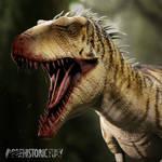 Gore King Lythronax - Prehistoric Fury by wildman1411