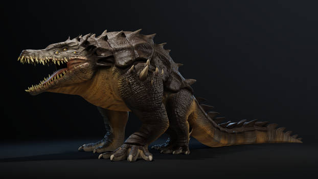 Crocorilla / 3D Creature model