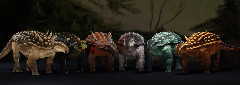 Tianchisaurus / The Gang / Prehistoric Fury