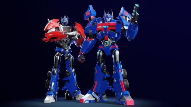 Magnus and Optimus / Transformers Prime