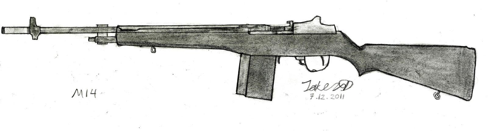 M14 Rifle by JakezuGD  M14 Rifle Wallpaper