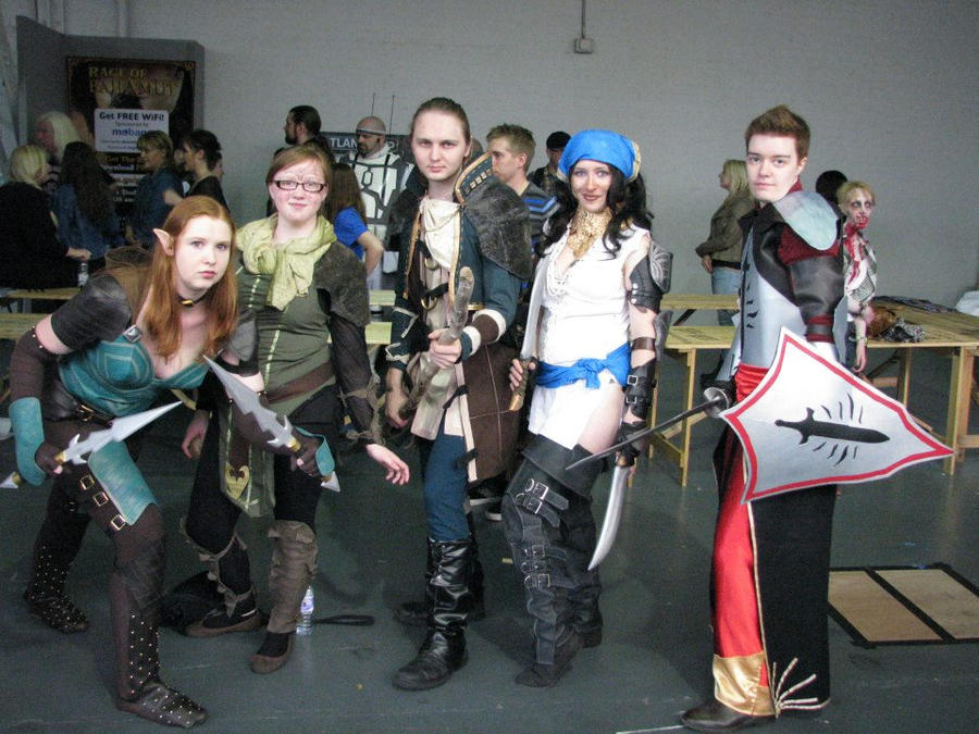 Dragon age group by Nerdpowers