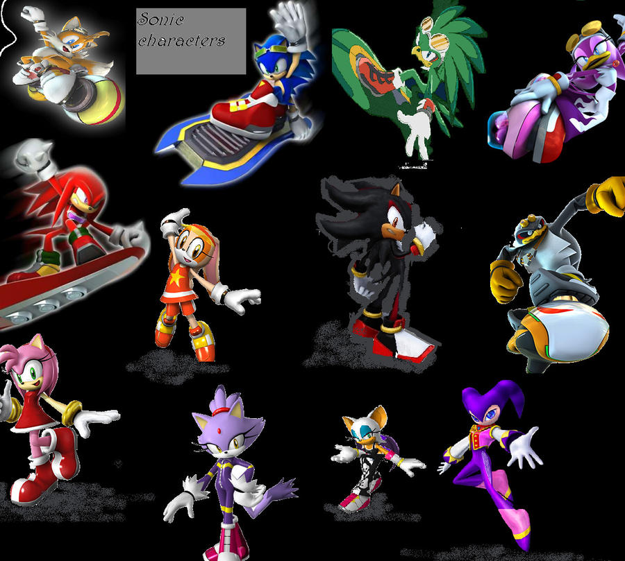 Sonic Anime Characters : Sonic characters by animelover on deviantart