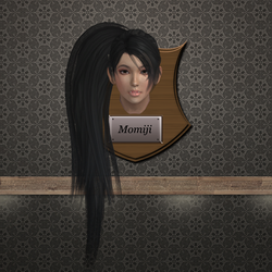 Trophy Plaque - Momiji by DeliciousVGBabes