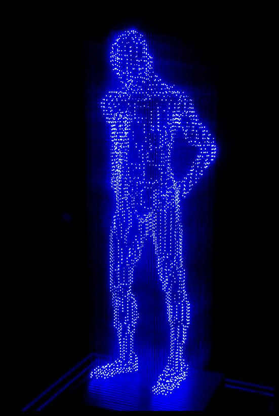 Salone Satellite - Blue man by echomrg
