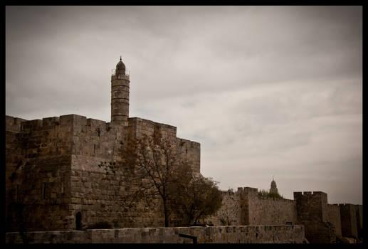 Jerusalem - Outside walls