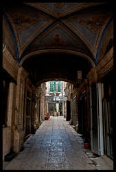 Jerusalem - Alley by echomrg